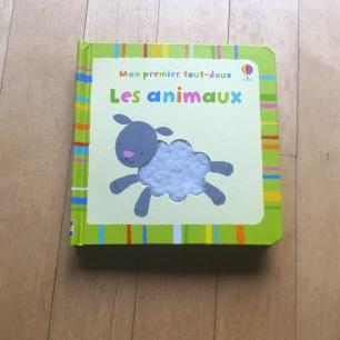 Mon premier livre tout-doux Les animaux Usborne publishing