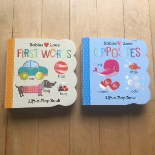 Opposites et First words - éditions Cottage Door Press