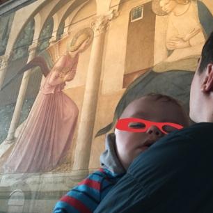 L'annonciation au couvent San Marco