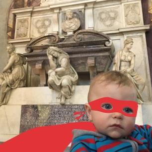 Dans l'église Santa Croce