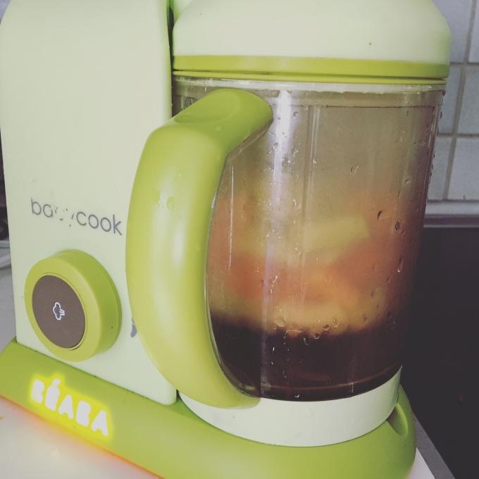 Babycook cuisson vapeur