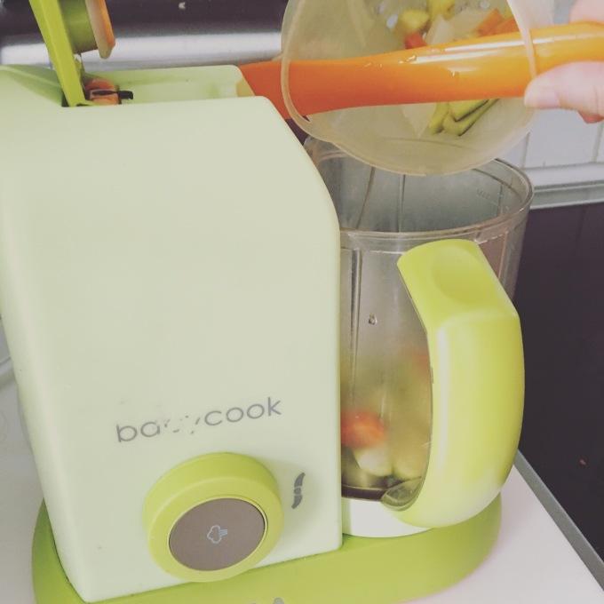 Babycook Beaba mixeur