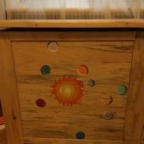 Coffre à jouets Système solaire